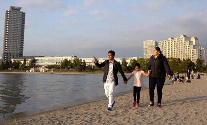 東京でのネパール人家族