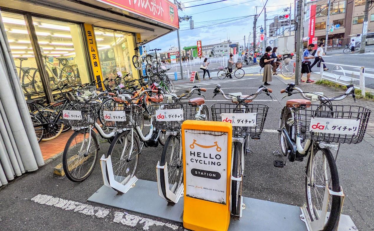 東村山市 レンタル電動アシスト自転車